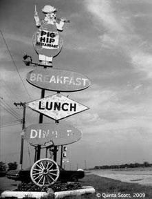 Pig Hip Restaurant, Broadwell, Illinois