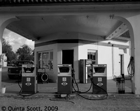 Afton, Oklahoma Gas Station, Now a museum.