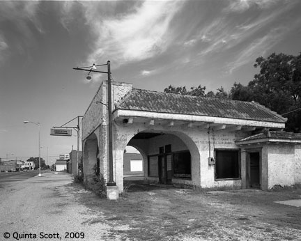 Cities Service Station, Afton, Oklahoma