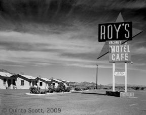 Roy's Motel, Amboy, California